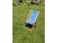 Wooden Traditional Deck Chair