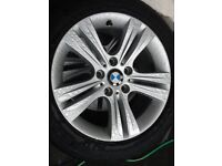 """Genuine 17"""" BMW 320d SE Alloys with Tyres For Sale"""
