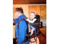 Child baby carrier hiking rucksack