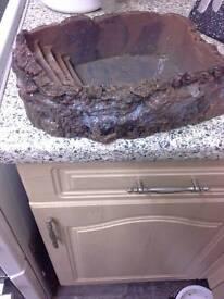 Large reptile water bowl