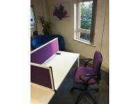 Rent a desk in our office in Bournemouth - Only £50 per week