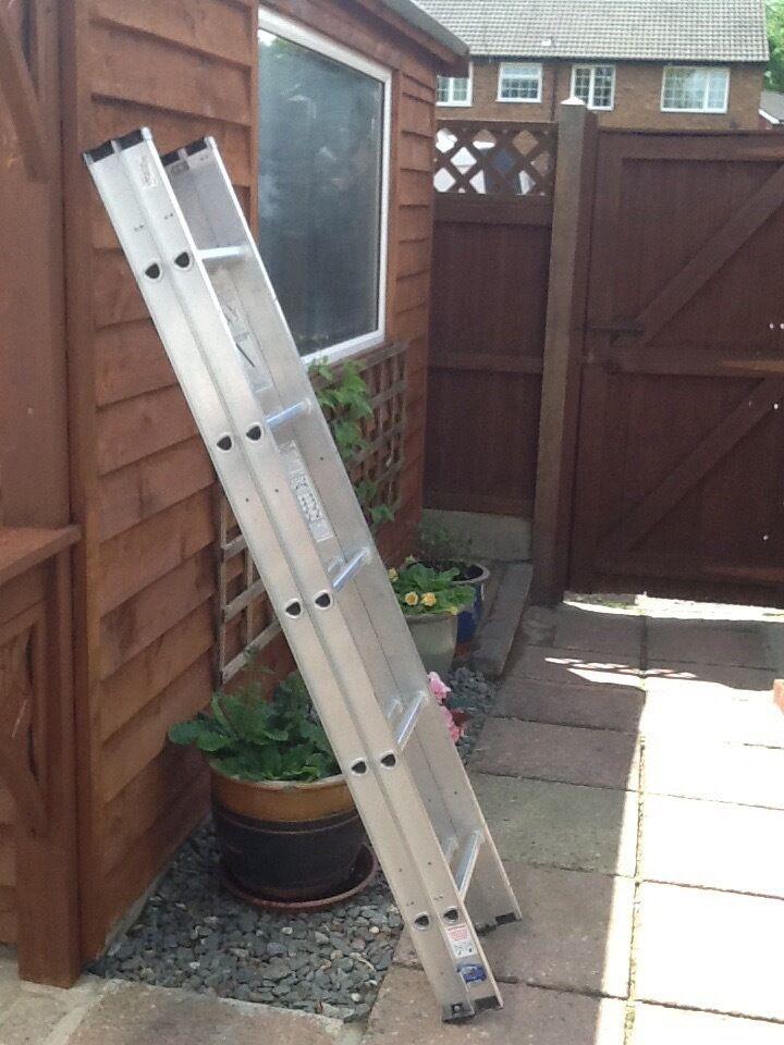 Double Extension Loft ladder