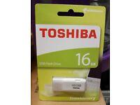 Toshiba 16GB flash drive for sale!