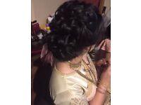 Bridal Hair Stylist | Birmingham Hair Artist | Asian Bridal Hair | Party Hair | Bridesmaids Hair