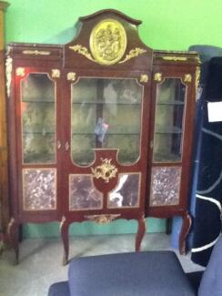 Marble inlaid China cabinet Invermay Launceston Area Preview