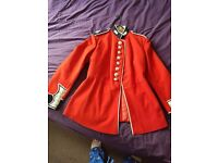 British Army Grenadier Guard Red Tunic