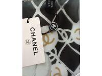 Chanel 100% silk scarf BNWT