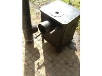 Moros squirrel burner / boiler solid fuel