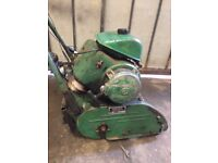Ransomes Petrol lawn mower 1930s runs well collecters