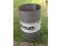Oil drums, garden incinerators, barbeque, smoker, fuel storage