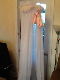 Vib drapes for cot / toddler bed free standing
