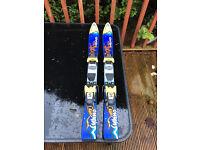 Head skis 90cm with Salomon boots mondo size 20