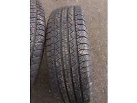 2 tyres 245 70 16