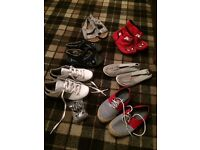 Boys footwear bundle size 1 - trainers etc