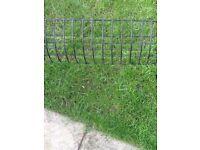 Large wrought iron planter/ window box