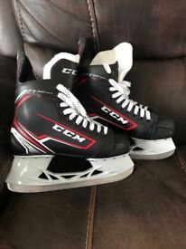 CCM Ice Hockey Skates *WORN ONCE* box size 6
