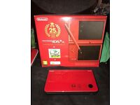 Nintendo DSi XL 25th Anniversary Edition Boxed