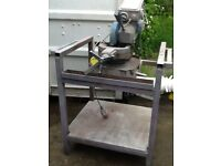 Steel cutting saw
