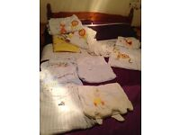 Baby sleeping bags and cot bedding