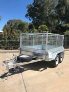 8x5 Heavy Duty Tandem Axle Galvanised Caged Trailer Morphett Vale Morphett Vale Area Preview