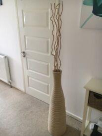 Modern stick vase