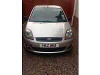 2006 Ford Fiesta zetec 1.25, fully serviced and MOT til June 2018, 4 new tyres fitted