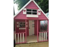 Large 14' x 7' two storey play house excellent condition