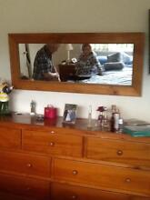 Timber dresser with dove tail jointed draws Mona Vale Pittwater Area Preview