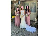 Justin Alexander wedding dress 8596 - size 8 - Excellent condition