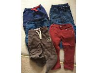 Boys trouser bundle age 2-3