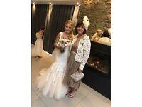 Kenneth winston wedding dress size 8-10