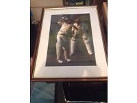 Sir Garry Sobers - West Indies Cricket Legend - Signed Framed Mounted Photo with COA