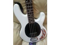 SUB Series Ray 4 Sterling 4 String Bass Guitar and Orange Practice Amp