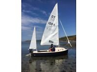 Devon yawl day boat and trailer dinghy yacht