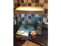 Super fish Aqua 45 aquarium and accessories