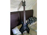 BC Rich Warbeast 1 - Electric Guitar - Black