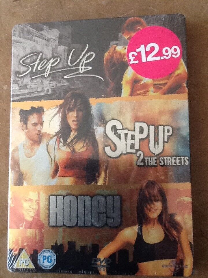 3 dance movies, Step Up, Step Up 2 & The Streets - Brand New