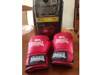 Used Lonsdale Sparring Gloves size small (6 oz)