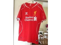 Two Liverpool FC Home Shirts for sale!!