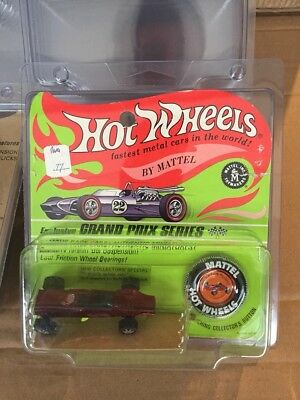 Lot Of 3 Hot Wheels Vintage  BP (Redlines) Plastic Protector Case** New 1 piece