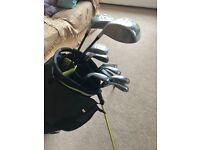 Ideal starter set of Wood Worm Golf Clubs