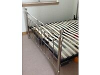 SUPERKING SIZE BED Pewter, M&S, Brand New, Never Used