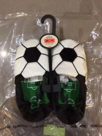 Brand new M&S Kids Football Slippers (Size 11)