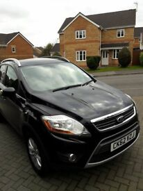 Black Ford Kuga 2012 Plate Low Mileage