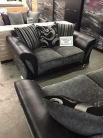 FABRIC/CRUSH VELVET*SHANN0N SOFA* LUXURY SOFA CHEAPEST PRICE 3+2/Corner sofa 928