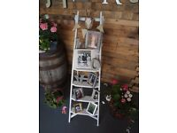 Vintage/rustic/shabby chic wooden step ladders ideal for for wedding/shop front