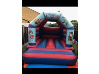 Indoor & outdoor bouncy castle hire covering the west midlands. Prices from £50 for a days hire