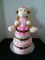 Having a BABY......get a DIAPER CAKE for your BABY SHOWER