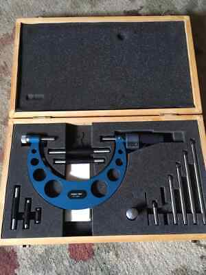 Fowler 0- 6 Outside Micrometer Set 0.0001 Open Box Unused