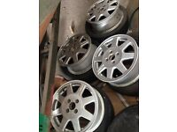 TTE SPEEDLINE SR Alloys (discontinued) (Toyota Optional Extra) NOT corolla glanza civic corsa